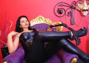 strict mistress cam